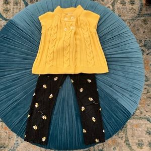 Gymboree bumblebee ensemble
